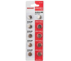 Батарейка Ag12 фирмы Rexant