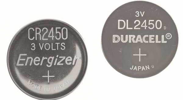 Все о батарейке CR2450