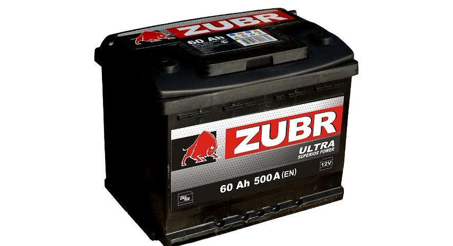 Производитель и модельный ряд аккумуляторов Зубр