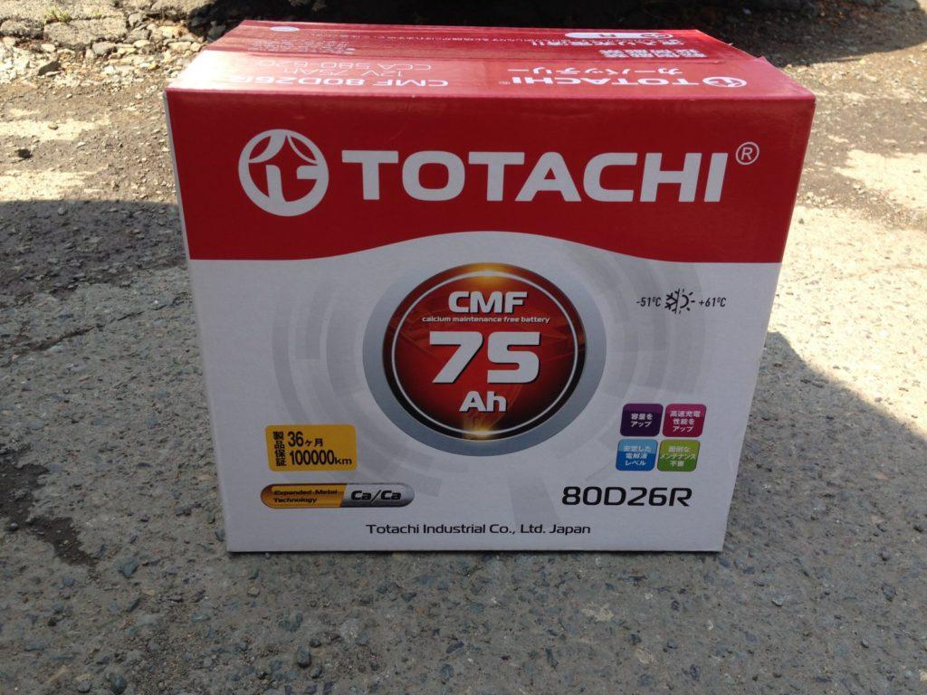 АКБ фирмы Totachi