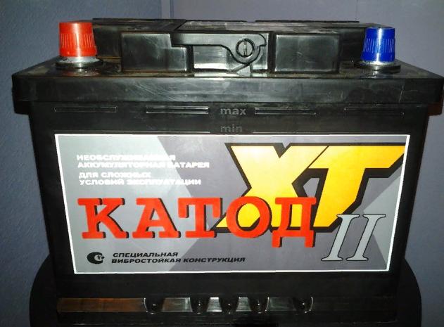 Обзор аккумуляторов Катод