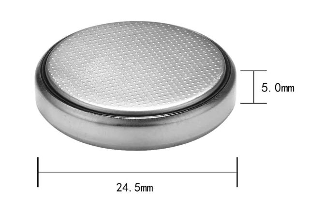 размеры батарейки