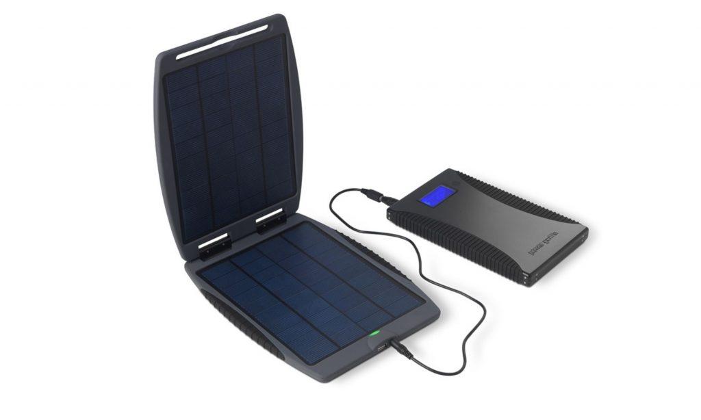 Переносная солнечная батарея для похода или рыбалки