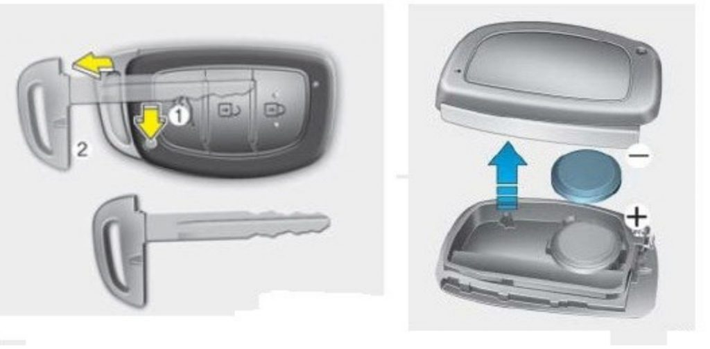 Как поменять батарейку в ключе зажигания машины
