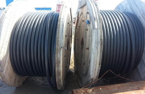 Конструкция кабеля АВБбШв (АВБШв) 4х240
