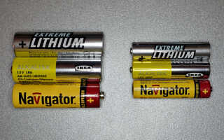 Батарейки аа и ааа: технические характеристики, в чем сходства и различия пальчиковых и мизинчиковых батареек