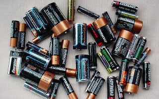 Срок годности и правила хранения батареек